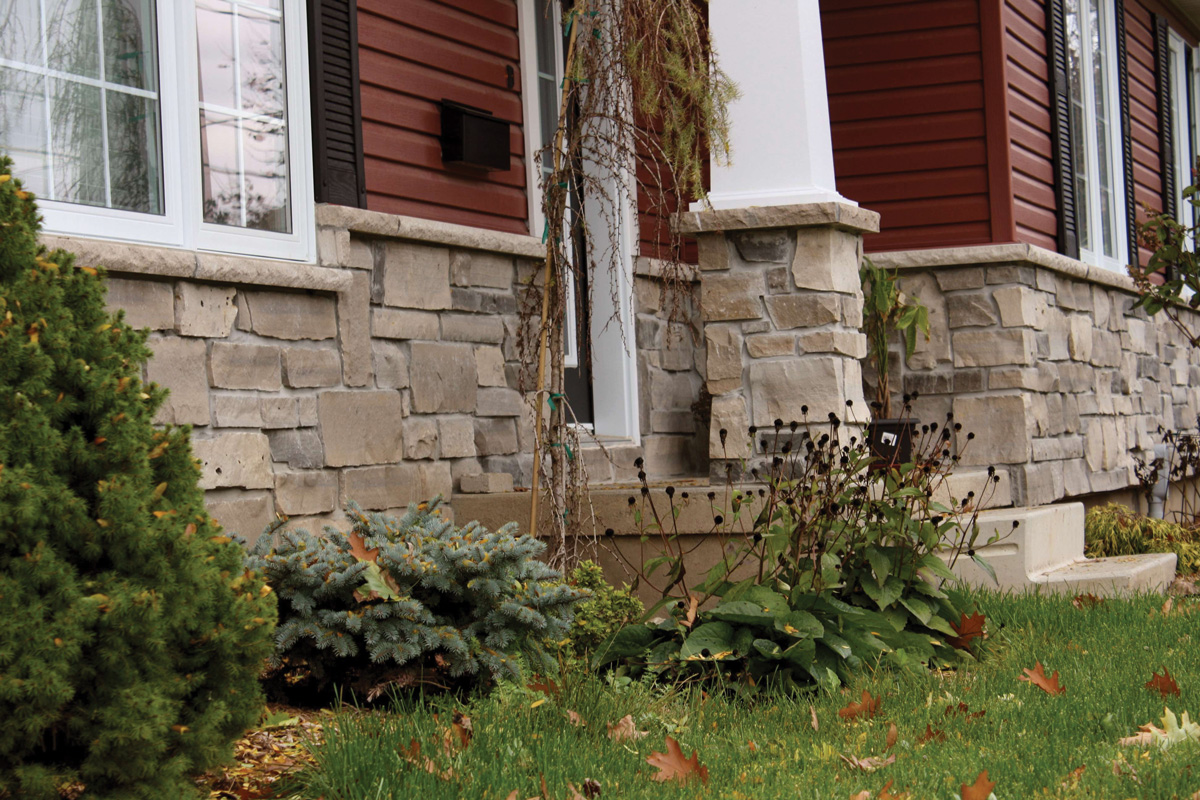 Protecting New Stone Walls Against Moisture And Repairing The Old Ones